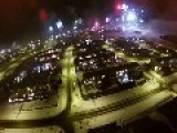 Drone Captures How Iceland Celebrates New Years Eve