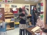 Dad Surprises Deaf Daughter