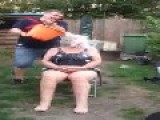 Drunk Women Gets Blinded During Ice Bucket Challenge