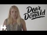 Dear Donald Trump | Hillary Clinton