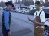 Drunk Green Man