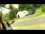Double Motorcycle Crash....Great Ending
