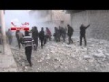 Dictator Assad Continues The Bombing Of Civilians