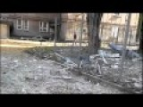 Donetsk's Kievskyi District After More Russian Shelling Vs. The Airport. 1.10.2014