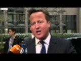 David Cameron Brussels Has Got Too Big And Interfering