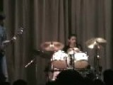 Drum Kit Falls During Performance