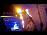 Dramatic Moment A Fire Starts In A Night Club In Ukraine