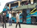 Deadly Collision Between Train And Double-decker Bus In Thailand