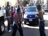 DOWN TOWN SAN FRANCISCO STREET FIGHT!!!!
