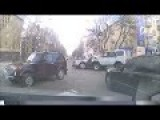 Dangerous Car Accident In Russia