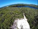 Drone Footage Of Lake Ainsworth And Seven Mile Beach Australia