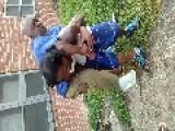 Drunken Man Gets Slam Dunk Into Kittie Pool