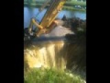 Draining Sams Pond