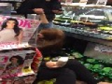 Drunk Girls Getting Kick Out Of A Store!