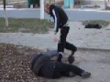 Drunk Russians Fight