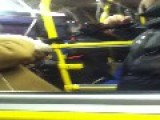 Drunk On A Toronto TTC Bus Nearly Gets A Beatdown After Shouting, Black People, Go To The Back In The Bus