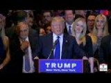 Donald Trump New York Primary FULL Victory Speech 8:20min