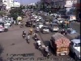 Driving Motorcycle In India