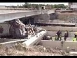 Deadly Bridge Collapse On Interstate 35 In Central Texas