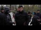 Darth Vader Hands Out Hyrnia To Kiev's Huddled Masses Yearning To Be Free : Ukraine Election