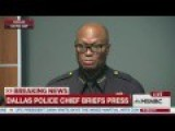 Dallas Police Chief On Open Carry Gun Laws: 'We Don't Know Who's The Shooter'