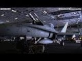 Daily Actions On USS Carl Vinson CVN 70 BEAST CARRIER. Moving F A-18 Hornet