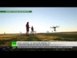 DRONE DELIVERS BEER NOT BOMBS AT S.AFRICA MUSIC FESTIVAL
