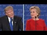 Donald Trump VS Hillary Clinton All Three Presidential Debates