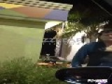 Drunk Charlie Sheen In The Taco Bell Drive-Thru