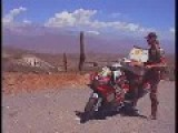 Dutch Man Travels Through Africa, Mexico & World On R1 Yamaha Sports Bike