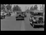 Driving Through Beverly Hills In 1935