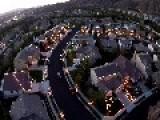 Drone Captures Amazing Christmas Lights Show