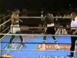 Defeated His Opponent With Punches In A Row On Side Mike Tyson Vs Ricardo Spain