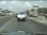 Dramatic Head On Crash Caught On Camera
