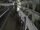 Drunk U.S. Metro Passengers Falling Off Docks And Escalators