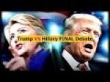 Donald Trump VS Hillary Clinton 3rd DEBATE HIGHLIHTS