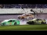 Daytona 500 Kevin Harvick Triggers The Big One
