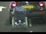 Driver Banned After Dragging Her Friend In Wheelchair Around Car Park