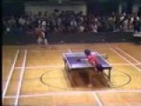 Death Smiles At Table Tennis Couple