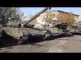 Dozens Of Captured Ukrainian Army Tanks