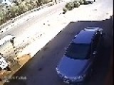Disaster Strikes When Idiot On Mobile Phone Leaves The Gas Station