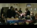 Dick Cheney Laughs At Code Pink Protester As Aide Has Childish Tug Of War