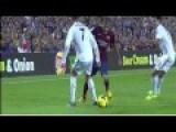 Dani Alves Amazing Skill Nutmeg Vs Cristiano Ronaldo HD