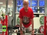 Denmark: This 95-yr-old Superman Can Weight Lift 290 Pounds