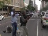 Durban Cops Disperse Protestors
