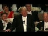 Donald Trump's Entire Speech At The Al Smith Dinner