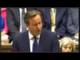 David Cameron British P.M Speaks On ISIS Threat Sep 1