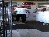 Drunk Guy Vs Tough Guy In Tire Shop