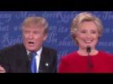 Donald Trump And Hillary Clinton Debate Her Temperament