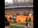 Denver Broncos Cheerleader Has An Insane Arm